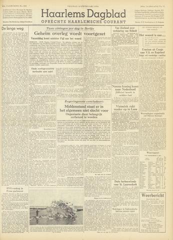 Haarlem's Dagblad 1954-02-12