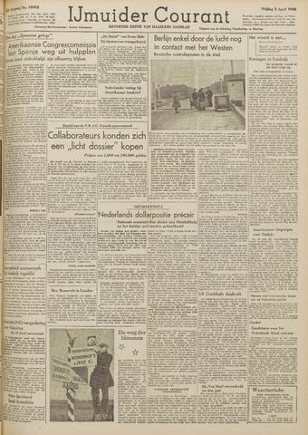 IJmuider Courant 1948-04-02