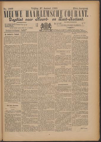 Nieuwe Haarlemsche Courant 1905-01-27