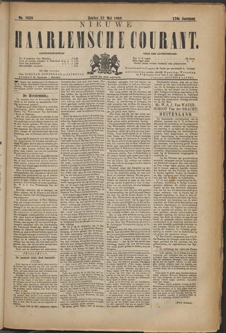 Nieuwe Haarlemsche Courant 1892-05-22