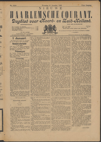 Nieuwe Haarlemsche Courant 1896-12-30