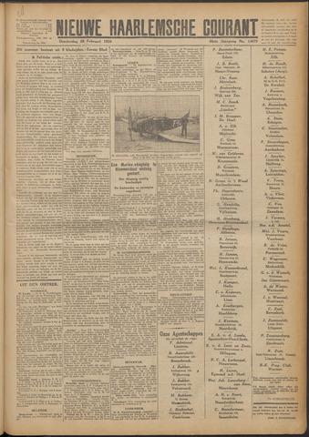 Nieuwe Haarlemsche Courant 1924-02-28