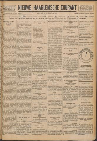 Nieuwe Haarlemsche Courant 1930-08-22