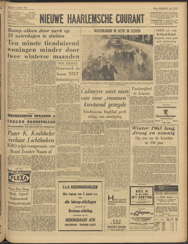 Nieuwe Haarlemsche Courant 1963-03-01