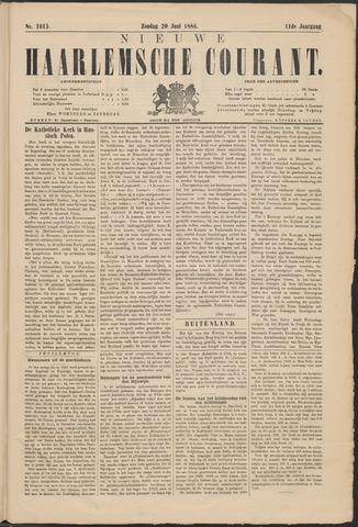 Nieuwe Haarlemsche Courant 1886-06-20