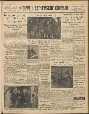 Nieuwe Haarlemsche Courant 1957-02-04