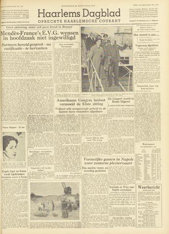 Haarlem's Dagblad 1954-08-21