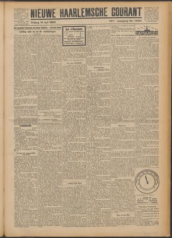 Nieuwe Haarlemsche Courant 1922-07-14