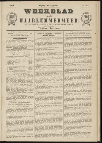 Weekblad van Haarlemmermeer 1874-08-14