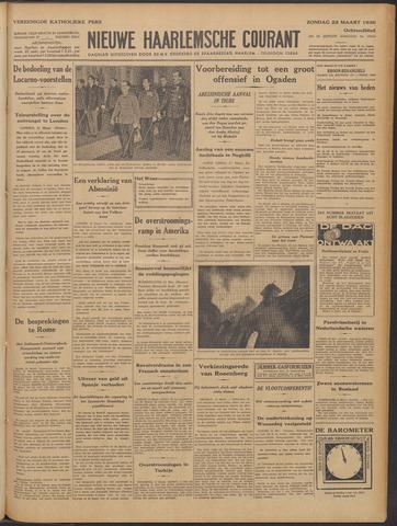 Nieuwe Haarlemsche Courant 1936-03-22
