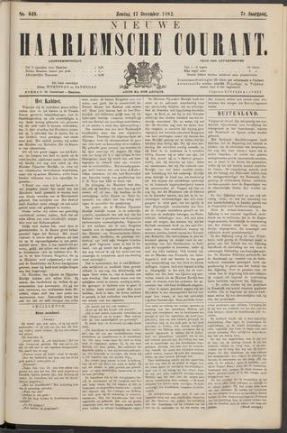 Nieuwe Haarlemsche Courant 1882-12-17