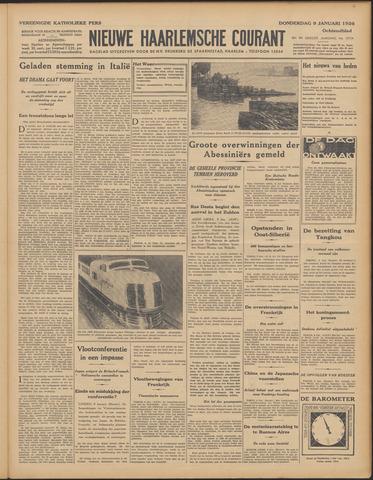Nieuwe Haarlemsche Courant 1936-01-09