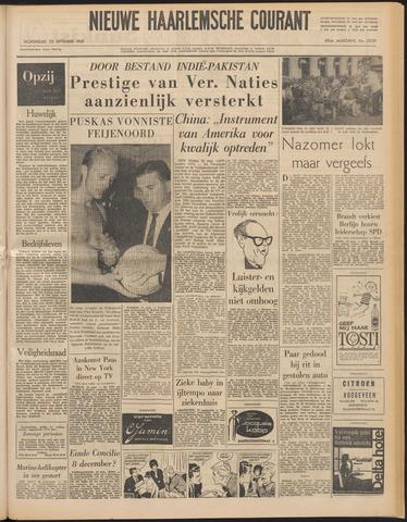 Nieuwe Haarlemsche Courant 1965-09-23