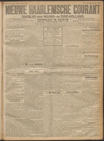 Nieuwe Haarlemsche Courant 1916-11-29