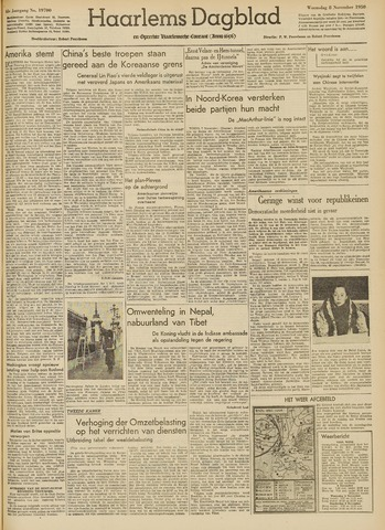 Haarlem's Dagblad 1950-11-08