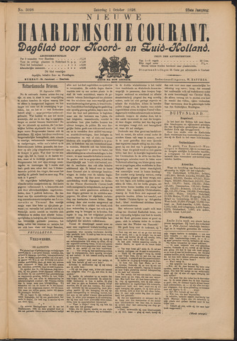 Nieuwe Haarlemsche Courant 1898-10-01