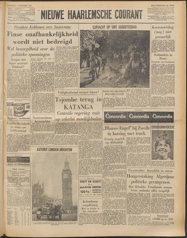 Nieuwe Haarlemsche Courant 1961-11-06