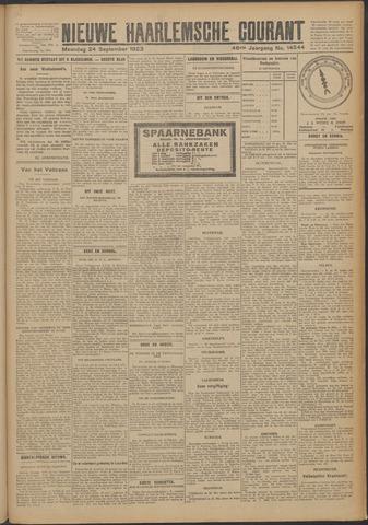 Nieuwe Haarlemsche Courant 1923-09-24