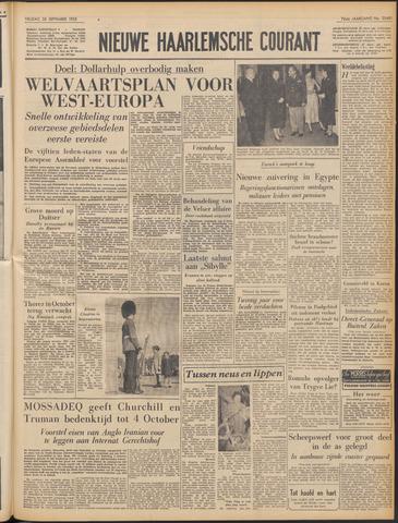 Nieuwe Haarlemsche Courant 1952-09-26