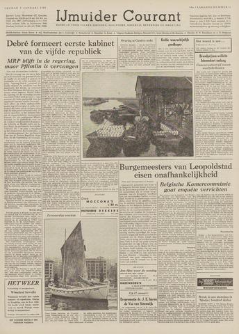 IJmuider Courant 1959-01-09
