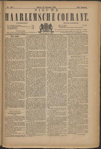Nieuwe Haarlemsche Courant 1892-11-20