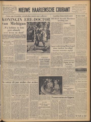 Nieuwe Haarlemsche Courant 1952-04-18
