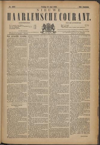 Nieuwe Haarlemsche Courant 1893-06-23
