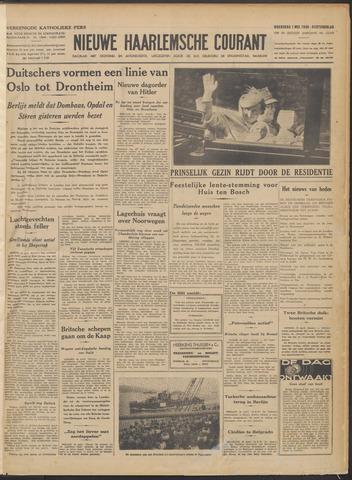 Nieuwe Haarlemsche Courant 1940-05-01