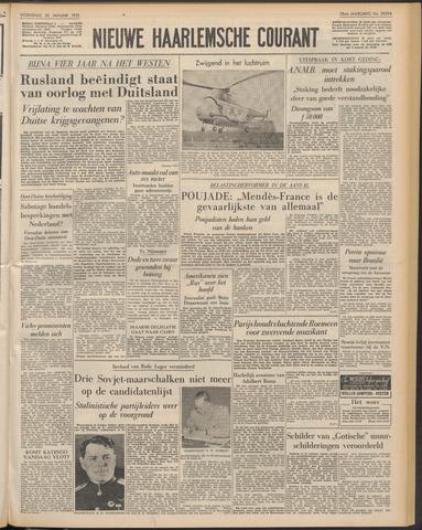 Nieuwe Haarlemsche Courant 1955-01-26