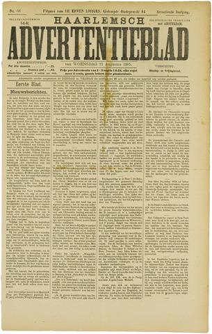 Haarlemsch Advertentieblad 1895-08-21