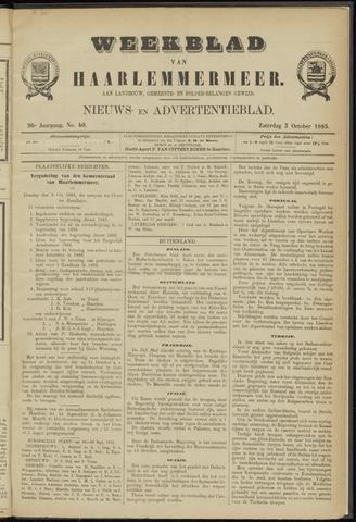 Weekblad van Haarlemmermeer 1885-10-03