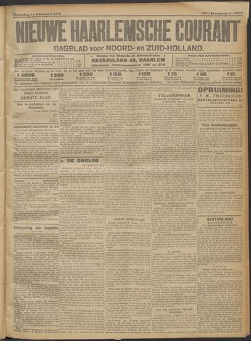 Nieuwe Haarlemsche Courant 1916-02-14