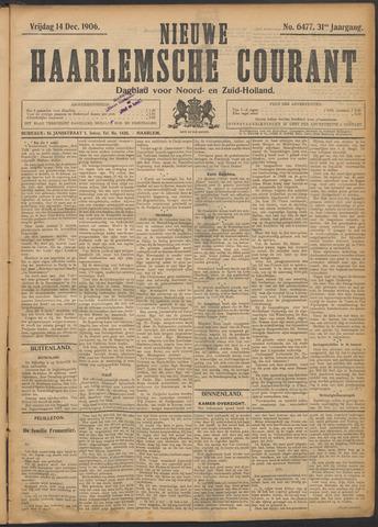Nieuwe Haarlemsche Courant 1906-12-14