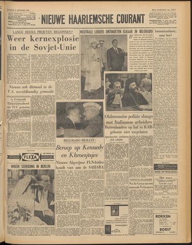 Nieuwe Haarlemsche Courant 1961-09-05