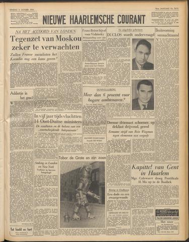 Nieuwe Haarlemsche Courant 1954-10-05
