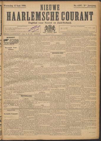 Nieuwe Haarlemsche Courant 1906-09-12