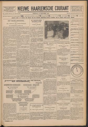 Nieuwe Haarlemsche Courant 1931-10-23