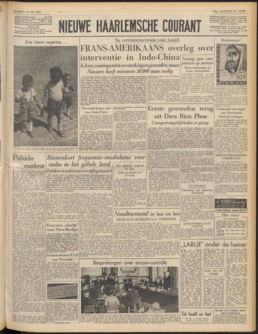 Nieuwe Haarlemsche Courant 1954-05-15