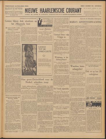 Nieuwe Haarlemsche Courant 1940-12-08