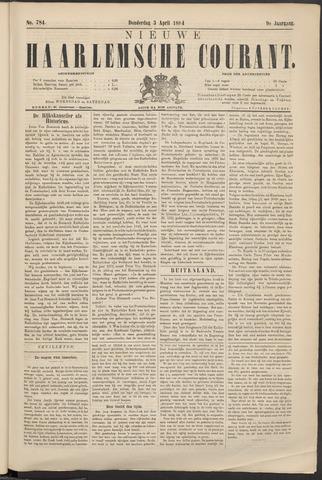 Nieuwe Haarlemsche Courant 1884-04-03