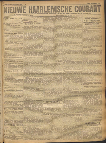 Nieuwe Haarlemsche Courant 1918-08-10