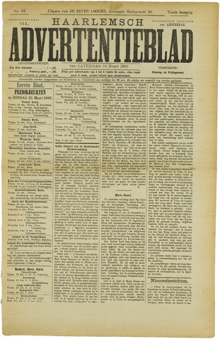 Haarlemsch Advertentieblad 1888-03-24