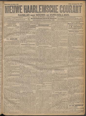 Nieuwe Haarlemsche Courant 1915-04-19