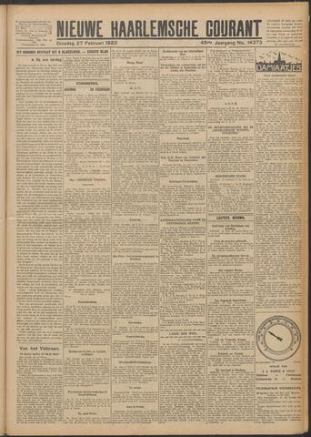 Nieuwe Haarlemsche Courant 1923-02-27