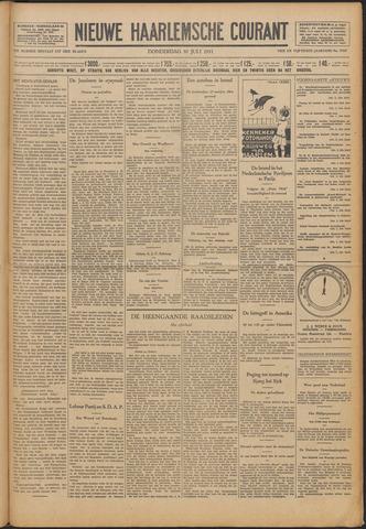 Nieuwe Haarlemsche Courant 1931-07-30