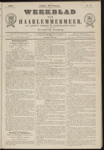 Weekblad van Haarlemmermeer 1876-02-25