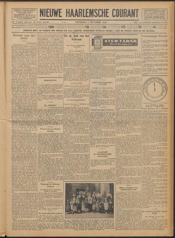 Nieuwe Haarlemsche Courant 1929-10-01