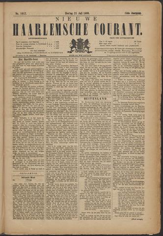 Nieuwe Haarlemsche Courant 1889-07-21