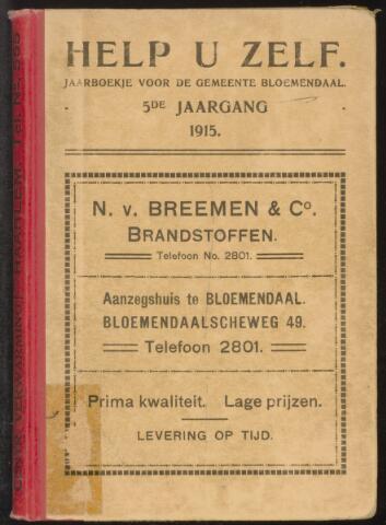 Adresboeken Bloemendaal 1915