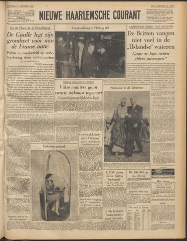 Nieuwe Haarlemsche Courant 1958-09-04